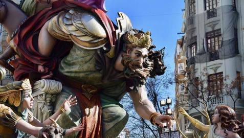 Las Fallas de Valencia 2019 reducirán a cenizas 7,67 millones de euros