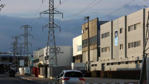 Empresas de Landaben denuncian y exhiben el deterioro del polígono