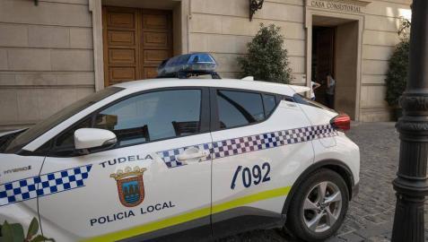 Vehículo de la Policía Local de Tudela