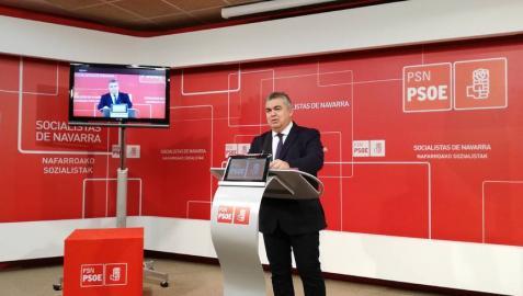 El diputado del PSN Santos Cerdán.