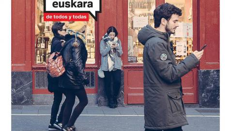 Campaña del Gobierno de Navarra para impulsar el prestigio social del euskera