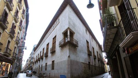 Vista del Palacio del Condestable