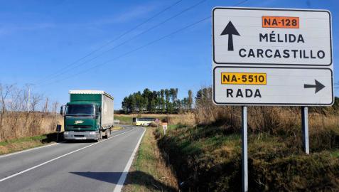 Declarada urgente la expropiación de afectados por las obras de la NA-128 entre Caparroso y Mélida