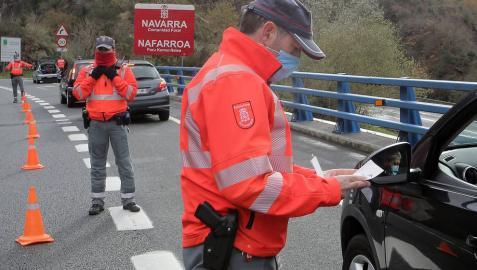 El cierre de Navarra y comunidades limítrofes se revisará este mes