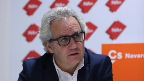 """Carlos Pérez-Nievas: """"El Gobierno de Chivite quiere nuestra sumisión para tapar sus carencias"""""""