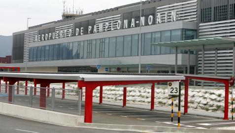 El aeropuerto de Pamplona perdió 7,78 millones en 2011