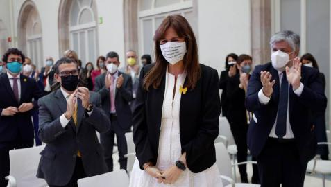 Laura Borràs, elegida nueva presidenta del Parlamento de Cataluña