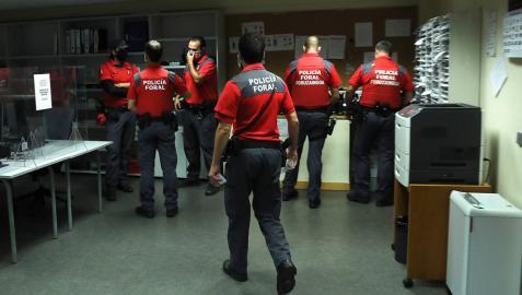 El Gobierno propone 273 nuevos agentes en Policía Foral, 149 de ellos tras asumir Tráfico