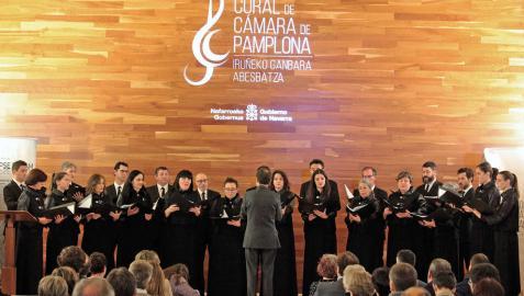 La Coral de Cámara de Pamplona celebra este año su 75 aniversario