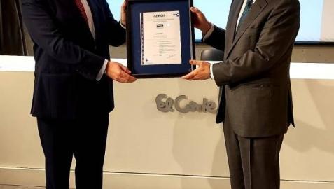 El Corte Inglés en Navarra recibe el certificado 'Residuo Cero' de AENOR