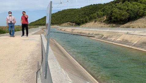 Los cazadores denuncian las muertes de animales en el Canal de Navarra