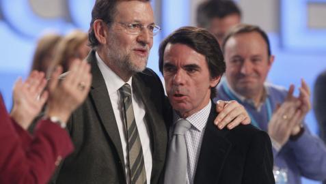 La relación entre Aznar y Rajoy: recelos de ida y vuelta