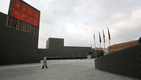 Foto genérica de Baluarte, uno de los edificios en los que se celebrará el festival dInternacional de Cine en Navarra