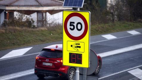 La DGT coloca dos radares más en Navarra, que ya cuenta con siete
