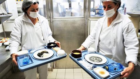 El Hospita Reina Sofía de Tudela comienza a ofrecer menús texturizados