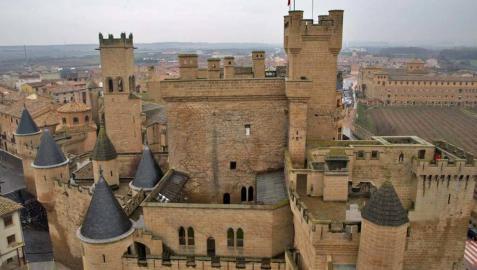 El Castillo de Olite, un palacio de ensueño