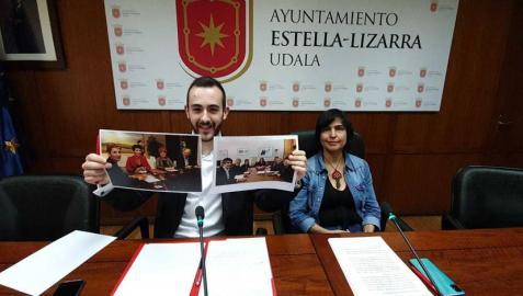 EH Bildu, Geroa Bai y una edil del PSN presentan una moción de censura en Estella
