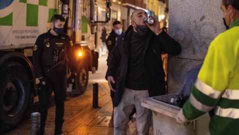 Madrid vuelve a registrar un sábado noche de borrachera