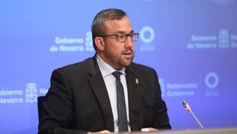 Javier Remírez, vicepresidente del Gobierno de Navarra.