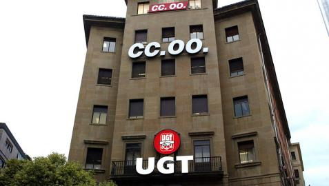 UPN y PSN aseguran el pago de 900.000 € a UGT, CCOO y CEN
