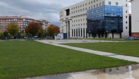 Sede del Palacio de Justicia de Pamplona, donde han sido denunciados los hechos.