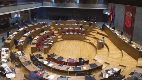 Rechazada una moción para que el Gobierno foral asuma el coste de la educación 0-3 años