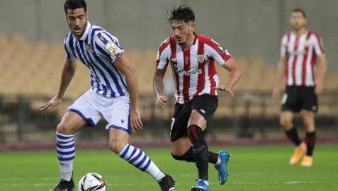 Mikel Merino, elegido jugador más valioso de la final de la Copa del Rey