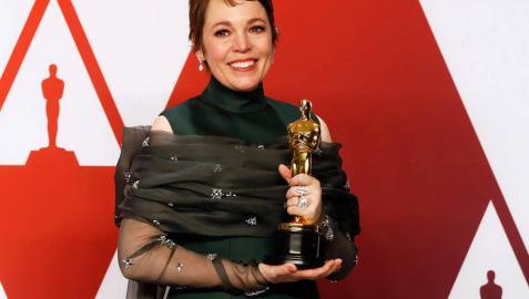 Olivia Colman ('La favorita') se lleva el Óscar a la mejor actriz