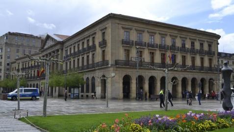 El edificio del Gobierno de Navarra