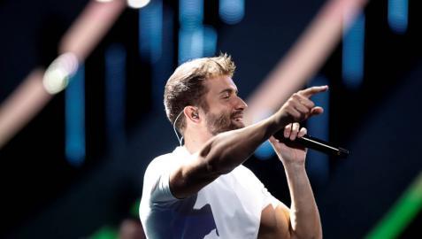 Pablo Alborán, ovacionado por 15.000 personas en Viña del Mar
