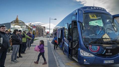 Comienza este lunes una campaña de control de transporte escolar