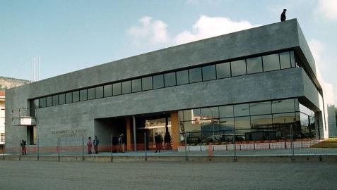 Vista exterior de archivo del Ayuntamiento de Ansoáin.
