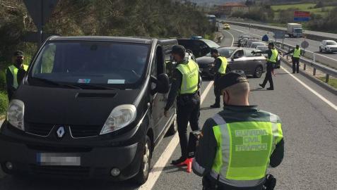 Policía Nacional y Guardia Civil intensificarán sus controles en Semana Santa en Navarra