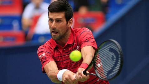 El serbio Novak Djokovic ha sido eliminado del Masters 1000 de Shanghái por Stefanos Tsitsipas