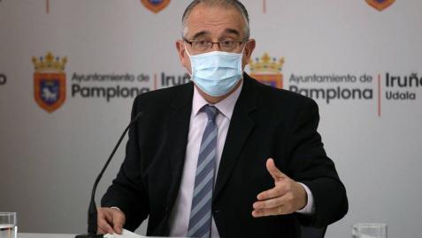 Enrique Maya, a la espera de una reunión el jueves con el Gobierno foral para decidir sobre Sanfermines