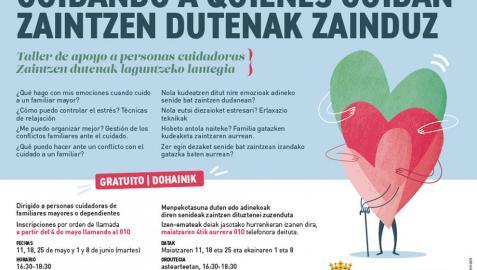 Taller gratuito para cuidadores no profesionales de Pamplona