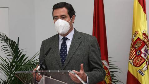 """Antonio Garamendi: """"Mantener el empleo si las empresas no son viables será difícil"""""""