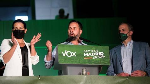 Abascal pide elecciones generales tras el
