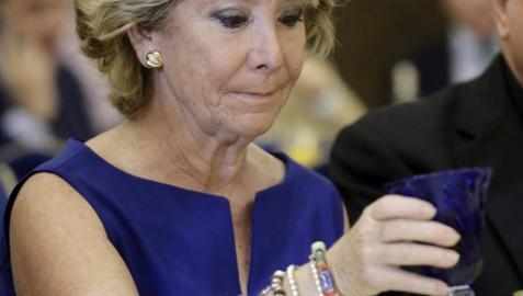 Esperanza Aguirre aboga por una redefinición ideológica del PP
