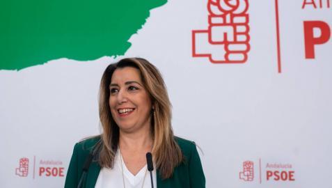 Susana Díaz dice estar dispuesta a repetir como candidata a la Junta