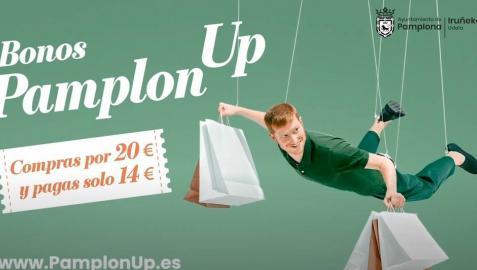 El Ayuntamiento lanza una nueva edición de bonos descuento PamplonUp