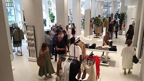 Zara inaugura su nueva sede en Pamplona