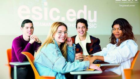 ESIC ofrece una formación con futuro.