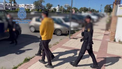Detención de un pedófilo en Estepona.
