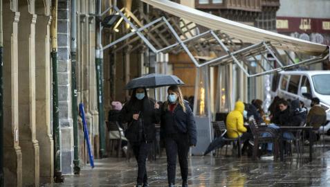 Los contagios descienden notablemente en Navarra con 66 registrados en las últimas horas