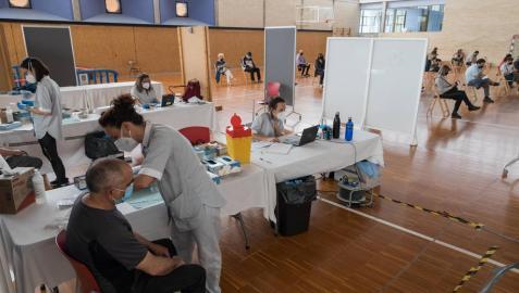 La vacunación de los riberos se centralizará en Tudela a fin de mes