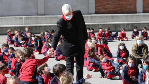 El general de la Compañía de Jesús inauguró el Año Ignacio en Pamplona, la ciudad en la que empezó todo