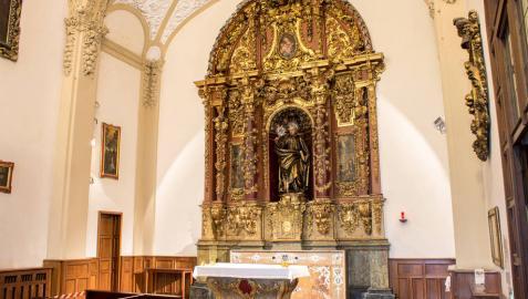 La basílica de San Ignacio de Pamplona