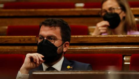 El Parlament inviste a Pere Aragonès presidente de la Generalitat