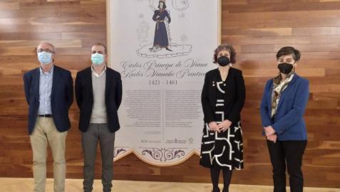 El Archivo de Navarra recuerda al Príncipe de Viana en el sexto centenario de su nacimiento